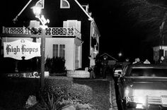 Police investigate the Amityville house on Ocean Avenue days after Ronald DeFeo Jr. shot his family to death in November 1974. Photo Credit: Newsday File