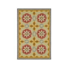 Dash and Albert Rugs Hooked West Star Wool Contemporary Rug - RDA075 ($64) ❤ liked on Polyvore