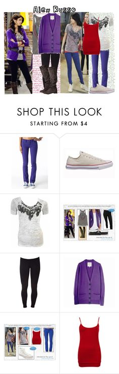 """""""Alex Russo Style"""" by sabs09 ❤ liked on Polyvore featuring мода, Morgan, Converse, Love, Simdog, Angel Wings, Forever 21, Free People, wizards of waverly place, cardigan и disney"""