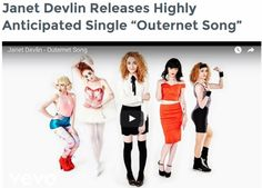 "The LP Collective Features Janet Devlin's New Single 'Outernet Song' - http://www.okgoodrecords.com/blog/2016/10/27/the-lp-collective-features-janet-devlins-new-single-outernet-song/ - Continuing to build on her intensifying buzz, Irish singer-songwriter Janet Devlin has followed up the success of her debut album Running With Scissors with the release of her highly anticipated single, entitled""Outernet Song.""  The single has been receiving rave review worldwide, and ha"