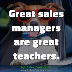 Great sales managers are great teachers. #NJLSalesTraining #motivation #inspiration #business #quotes #Advice
