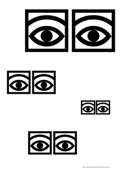Eyes poster By Swedish graphic artist Olle Eksell. Olle Eksell, Museum Poster, Piet Mondrian, Poster Prints, Art Prints, Graphic Prints, Sculpture Painting, Josef Albers, Portraits