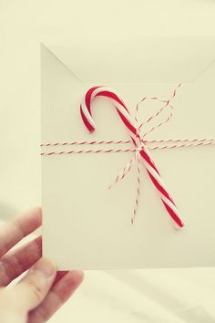 :merry white envelope: by Merissa Revestir, via Flickr