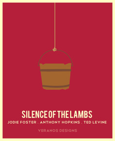 it rubs the lotion on its skin or else it gets the hose again... minimalist movie poster #art #graphicdesign