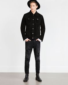 NEW CARROT RIPPED JEANS-Slim Fit-Jeans-MAN-SALE | ZARA United States