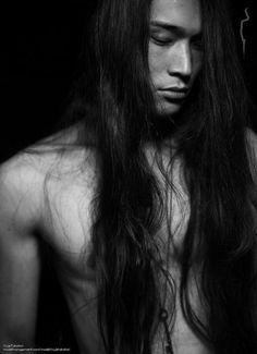 japanese model men long hair - Google Search