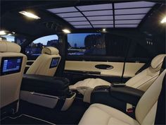 maybach interior; I can't believe that any car looks like this