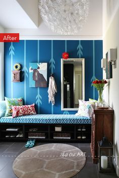 Before and After: A Blank Canvas Entryway Makeover » Curbly   DIY Design Community
