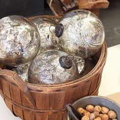 Christmas Decorating Ideas: Mercury Glass Balls  86 fresh christmas decorating ideas - Southern Living