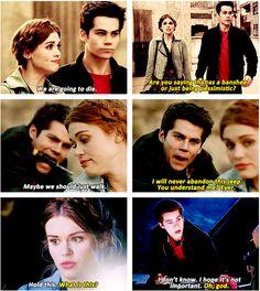 "#TeenWolf 4x01 ""The Dark Moon"" - Lydia and Stiles"