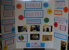 M&M Math Science Fair Project