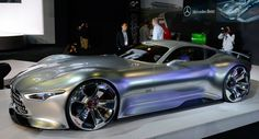 Mercedes-Benz's Gran Turismo 6 AMG Vision Concept Jumps Into Life at LA Auto Show