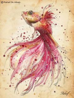 Fish. By Rahaf Art
