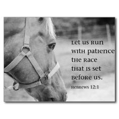 Items similar to Scripture Art Horse Black and White Print Hebrews 12 1 Run Race Horse Lover Christian art gift Encouragement Inspirational Decor Bible quote on Etsy Christian Art Gifts, Christian Quotes, Christian Decor, Christian Living, Favorite Bible Verses, Bible Verses Quotes, Jesus Quotes, Faith Quotes, Favorite Quotes
