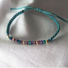 Super Ideas For Diy Jewelry Macrame Stone Necklace Beaded Anklets, Beaded Jewelry, Jewelry Box, Jewelery, Jewelry Accessories, Jewelry Making, Beaded Bracelets, Hemp Jewelry, Bracelet Crafts