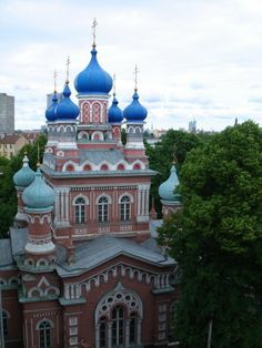 Got to sing a song in Russian in this Orthodox church in Riga, Latvia. One of my highlights.
