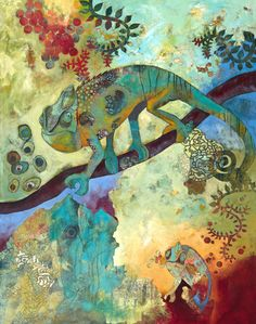 Raintree Studios, Decorative and Fine Art Studios of Raina Gentry Art And Illustration, Find Art, Jungle Art, Hippie Art, Psychedelic Art, Art Reproductions, Art Studios, Decoration, Watercolor Art