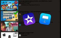 Lernvideos für den Fernunterricht     iPad macht Schule... Keynote, Videos, Ipad, Hero's Journey, Distance Education Courses, Company Logo, Class Room, Tips And Tricks, Studying