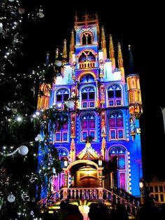 Gouda - City Hall met kerst