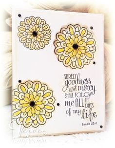Card by Betty Wright using Verve Stamps.  #vervestamps