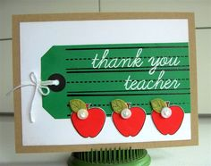 Splitcoaststampers FOOGallery - Thank You Teacher