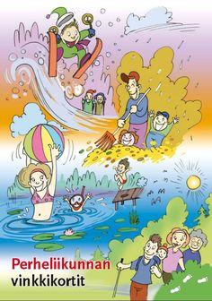 Perheliikunnan vinkkikortit | Suomen Mielenterveysseura