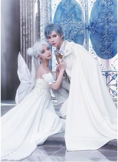 30th Century Neo Queen Serenity and King Endymion