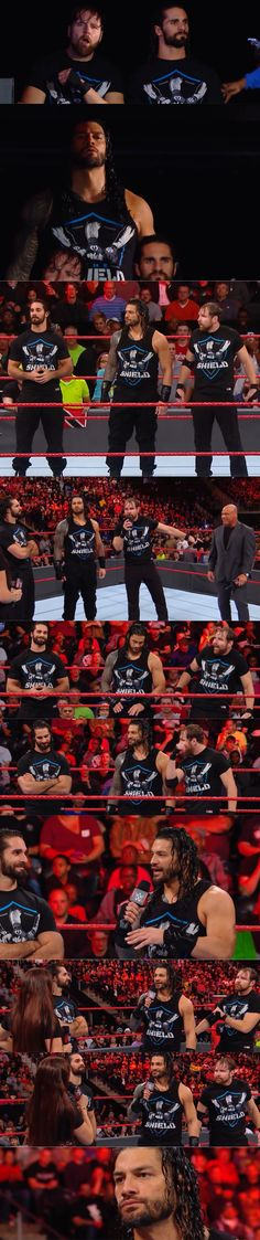 So glad that Roman Reigns is finally better and ready to wrestle again! The Shield just isn't complete without him. Although Seth and Dean lost their titles last week I am thrilled to see The Shield demolish The New Day at Survivors Series! Monday Night Raw Nov. 13, 2017