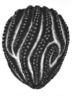 PATTERNS ABORIGENI NEI CAPELLI (braids) | SO YOON LYM