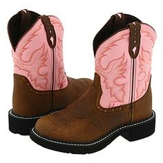 Justin Gypsy Cowgirl Boots. I have these and wear them almost every single day for the last 2 years. They're amazing.