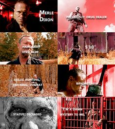 the walking dead, twd, and merle dixon image Walking Dead Show, Walking Dead Memes, Fear The Walking Dead, Norman Reedus, Walking Dead Characters, Merle Dixon, Twd Memes, Michael Rooker, The Day Will Come