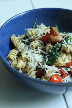 Life on Food: BLT Pasta #secretrecipeclub