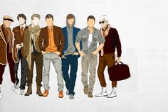 the 7 principles of men's style  We hear you need guidance.     Allow us to introduce you to the 7 principles of men's style. A definite guide to the techniques of men's style:  Fitting  Accessorizing  Detailing  Layering  Color Coor
