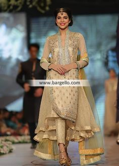 D4805 Pakistani Party Dresses lincolnwood Illinois IL Pakistan Bridal Couture Week 2014 Asifa & Nabeel Special Occasions