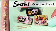 Miniature Sushi Tutorial // DIY Miniature Food
