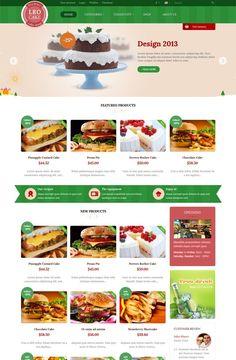 Leo Cake Prestashop Theme, best theme, prestashop version 1.6.0.8, Responsive