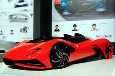 The Hybrid Ferrari of Tomorrow / Kim Cheon Ju, Ahn Dre and Lee Sahngseok took first place in the Ferrari World Design Contest in Maranello, Italy.