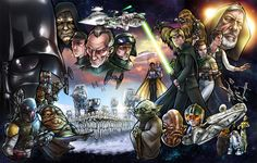Star Wars by *AdamWithers on deviantART