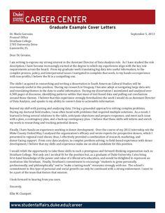 Skills Bank for Cover Letters by Duke University Career Center via ...