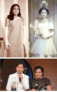 """"""" THE BIG STAR in a decade """" Join forces In one night ... Vilma Santos and Nora Aunor to be honored a LIFETIME ACHIEVEMENT Awardees of the 33rd Star Award for the Movies BEFORE AND AFTER Location : Manila Philippines Wayback 2017 Nora Aunor, Star Awards, Manila Philippines, Oldies But Goodies, Big Star, A Decade, First Night, Join, Stars"""