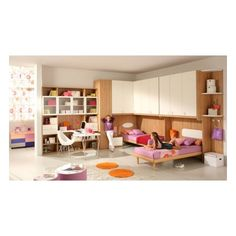 kids room for girls | Interior and Exterior Trends ❤ liked on Polyvore