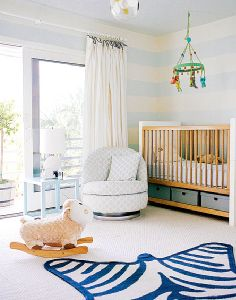 nursery ideas love this rug!