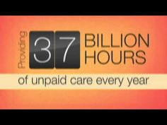 Family Caregiving: The Universal Occupation-- raise awareness for family caregivers!!