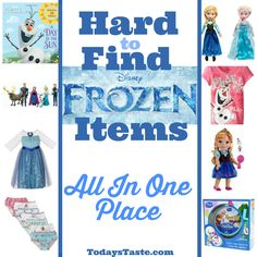 Love Frozen items as much as we do? Find them all in one place!