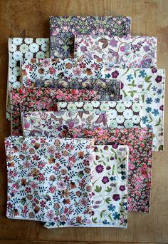 Molly's Sketchbook: ButtonholeNapkins