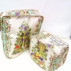 Vintage Kitchen Linens Toaster Cover Mixer Cover by WhimzyThyme, $32.95