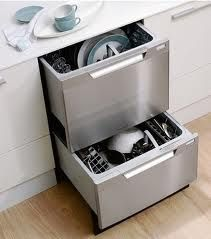 No More Dishes In The Kitchen Sink Load One While The Other Washes Or Just Run A Quick Load Of Glasses Two Drawer Dishwashers Are A Favorite In Kitchen