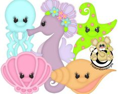 Stuffy Pals Collection Vector Graphics Digital Clipart Etsy Clip Art Digital Clip Art Vector Graphics