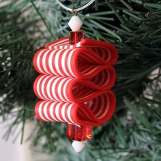 Unique Handmade Polymer Clay Christmas Ornaments