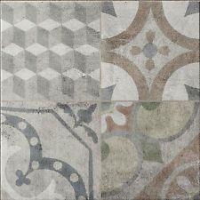 Flavian Grey Empire Moroccan Style Ceramic Floor/Wall Tiles 450x450x9mm 5-15Sqm